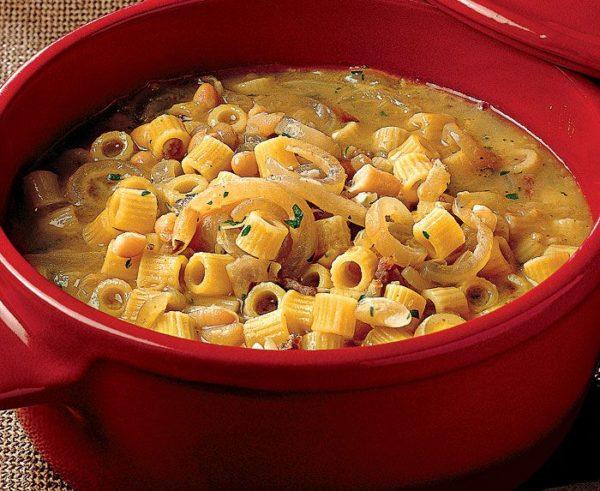 سوپ ماکارونی
