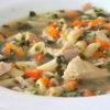 سوپ ماکارونی مخصوص تابستان