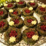 کوکو سبزی مجلسی با نان باگت