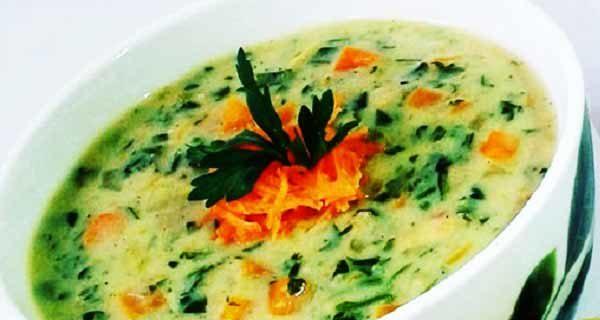 یک سوپ تابستانی و خوش طعم و متفاوت درست کنید