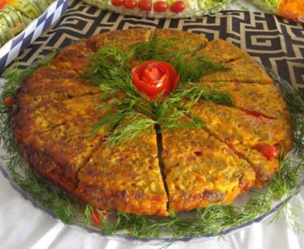 هویج کوکو سبزی