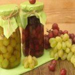 آموزش درست کردن ترشی انگور