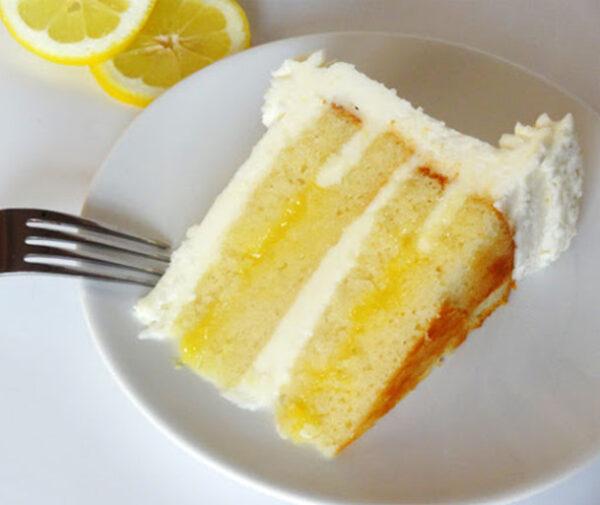 کیک لیمو و زنجبیل