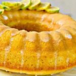 طرز تهیه کیک قالبی لیمو و زنجبیل