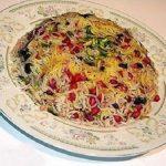 انار پلوی خوشمزه برای شب یلدا