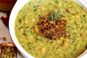 طرز تهیه آش نذری شیرازی