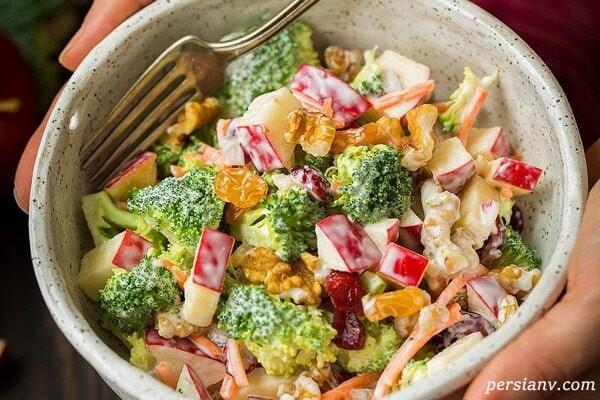 طرز تهیه سالاد سبزیجات ، یک غذای فوق العاده برای شام