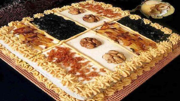 کیکی جدید و خوشمزه ، کیک کشک بادمجان