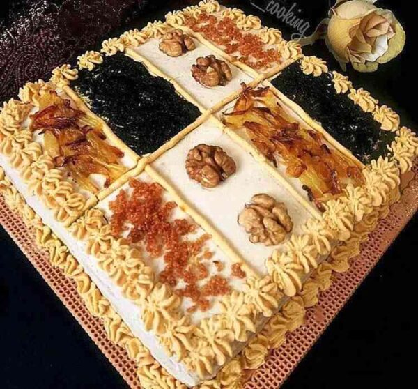 کیک کشک بادمجان