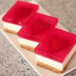 آموزش تصویری چیز کیک های قلبی خوشمزه و دوست داشتنی