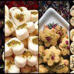آموزش تهیه ۵ نوع شیرینی خوشمزه برای عید !