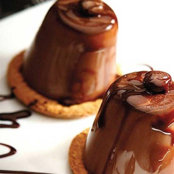 بیسکویت و شکلات ژله ای