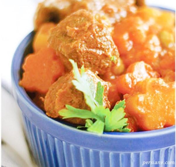 طرز تهیه خوراک شتر مرغ خوشمزه