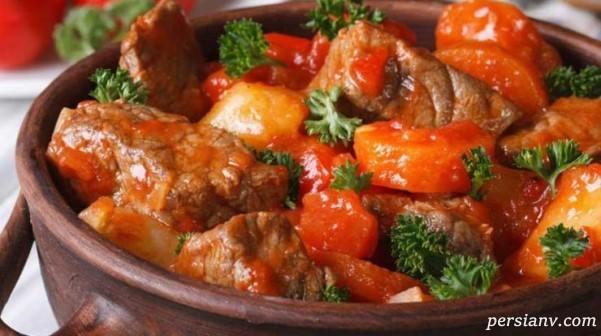طرز تهیه خوراک شترمرغ