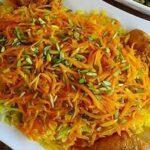 طرز تهیه یک پلوی خوشمزه با پوست پرتقال