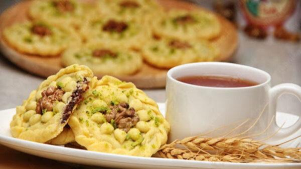 طرز تهیه یک شیرینی محلی خوشمزه ، کلمپه کرمان