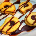 شیرینی های خوشمزه برای عید نوروز ، بیسکویت دوقلو