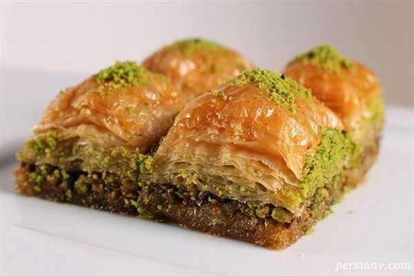 طرز تهیه باقلواهایی خوشمزه برای عید