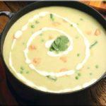 طرز تهیه سوپ خامه ای مرغ ، با طعم ترخون