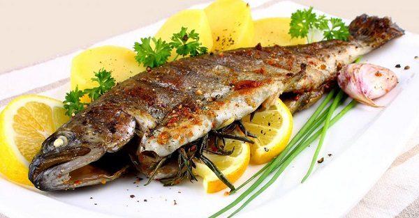 ماهی شکم پر ، مخصوص چهارشنبه سوری
