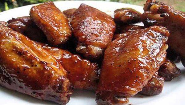 مرغ با طعم تند و شیرین