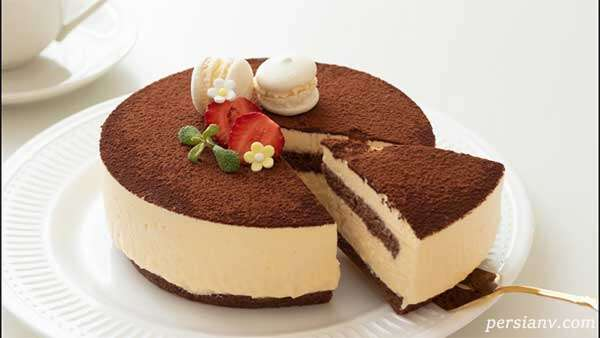 چیز کیک ایتالیایی تیرامیسو