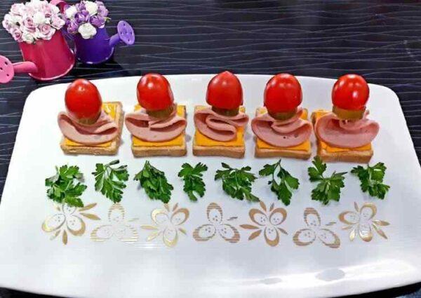 طرز تهیه یک عصرانه خوشمزه و متفاوت !