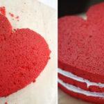 طرز تهیه کیک مخملی زیبا برای جشن تولد !
