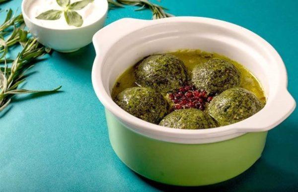 طرز تهیه آش سبزی شیرازی !
