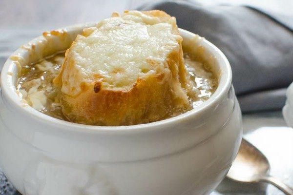 طرز تهیه سوپ پیاز فرانسوی ، سوپ بهاری