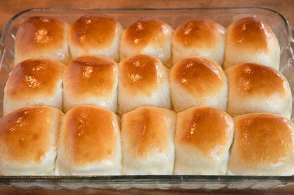 طرز تهیه نان پف پفی های خوشمزه !