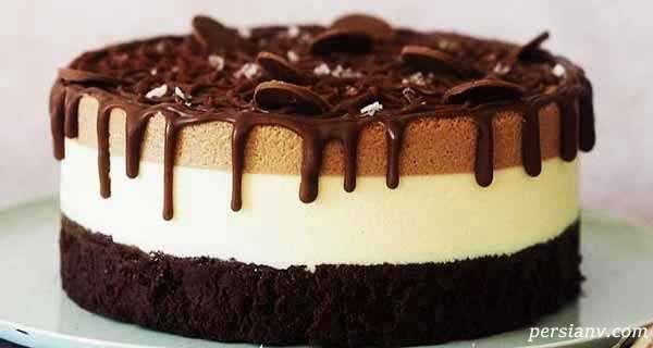 طرز تهیه کیک پنیری دسری ساده و بسیار لذیذ