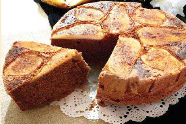 کیک گلابی و زنجبیل دسری بی نظیر برای بعداز افطار