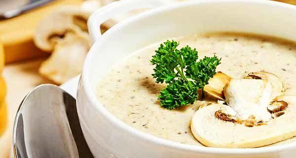 طرز تهیه سوپ شیر و قارچ ، پیش غذایی سبک و دلچسب