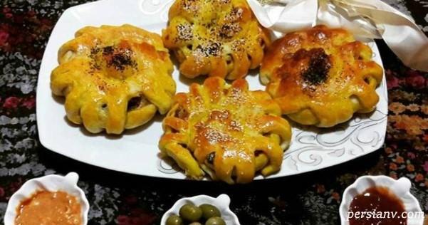 طرز تهیه نان گوشتی عربی خوشمزه و متفاوت