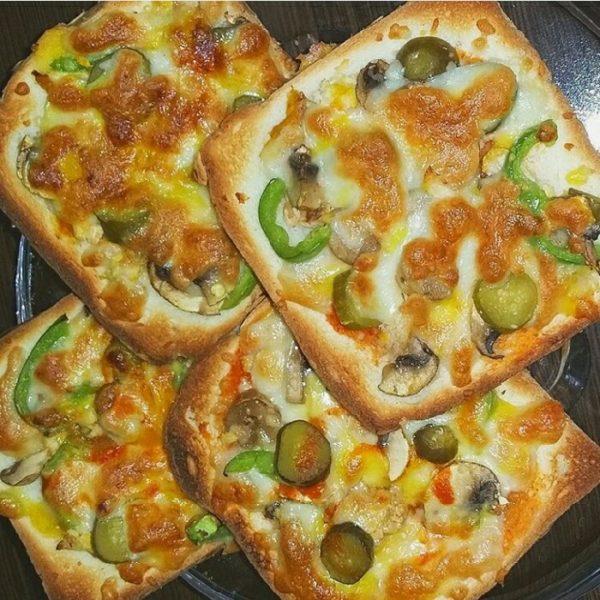 طرز تهیه پیتزا لقمه ای
