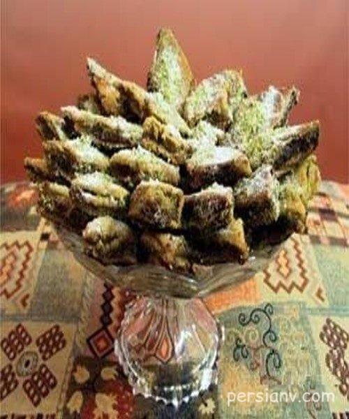 طرز تهیه کماچ سهن شیرینی خوشمزه ی کرمانی