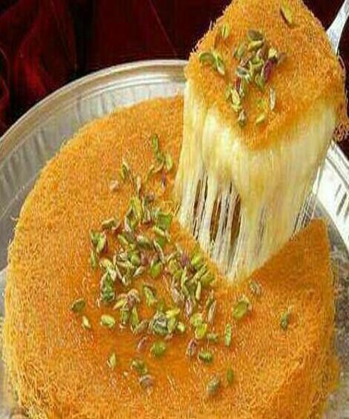 طرز تهیه کونفه کادایف پنیری یک دسر ترکیه ای خوشمزه