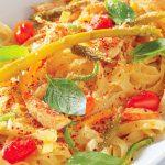 طرز تهیه چیکن تترازینی یک غذای ایتالیایی خوشمزه