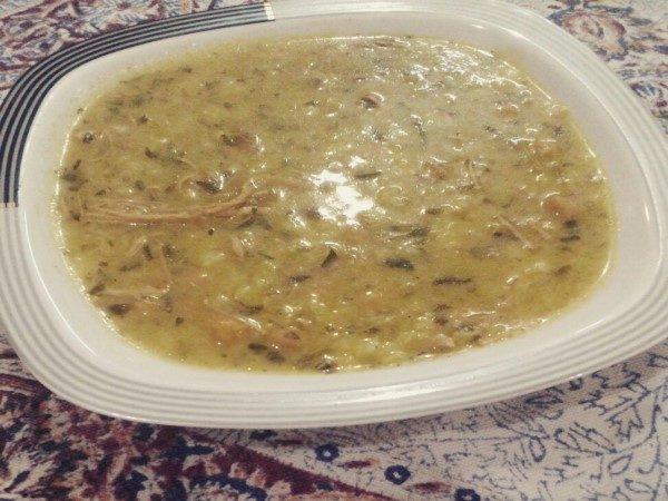 طرز تهیه سوپ بوقلمون