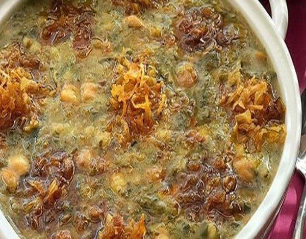 طرز تهیه سوپ ترشک ، یک پیش غذای عالی و خوشمزه