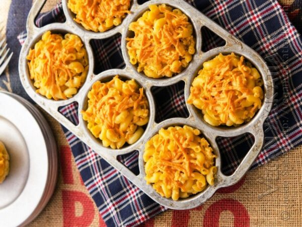 طرز تهیه کاپ کیک ماکارونی، بهترین نهار و خوشمزه ترین وعده شام شما میشود