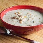 طرز تهیه سوپ مرغ و لوببا ، یک پیش غذای سالم و عالی