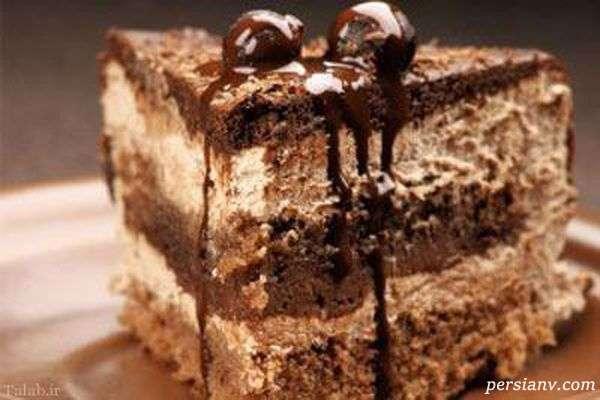 کیک شاه بلوط