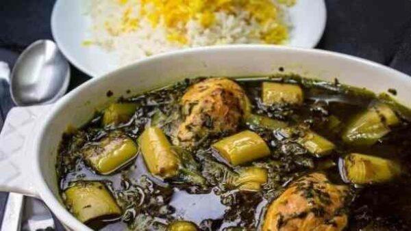 طرز تهیه خورش تره فرنگی ، یک غذای عالی و خوشمزه