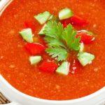 طرز تهیه سوپ گازپاچو ، یک پیش غذای عالی و خوشمزه