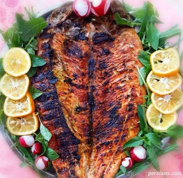 ماهی کباب