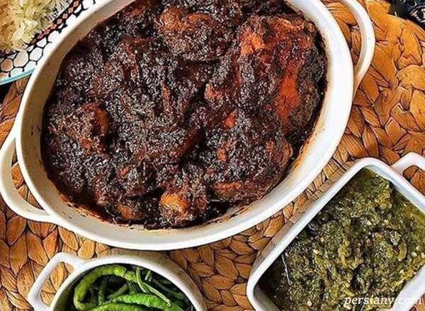 طرز تهیه گوشت ترش ، یکی ازغذاهای محلی استان گیلان