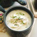 سوپ یونانی مرغ و لیمو ، یک پیش غذای عالی برای فصل سرما