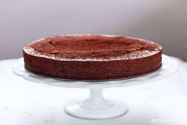 طرز تهیه تارت شکلات